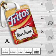 Fritos Original Custom Leather Luggage Tag