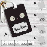 Jiji Face Kiki's Delivery Service Custom Leather Luggage Tag