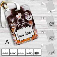 Kiss Band Custom Leather Luggage Tag