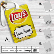 Lay's Classic Custom Leather Luggage Tag
