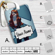 Molotov Cocktease The Venture Bros Custom Leather Luggage Tag