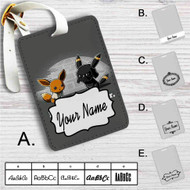 Pokemon Star Wars Custom Leather Luggage Tag