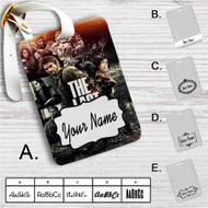 The Last of Us Game Custom Leather Luggage Tag