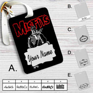 The Misfits Custom Leather Luggage Tag