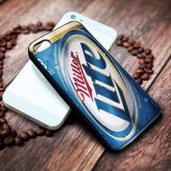 Miller Light on your case iphone 4 4s 5 5s 5c 6 6plus 7 case / cases
