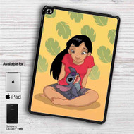 "Teenage Lilo with Stitch iPad 2 3 4 iPad Mini 1 2 3 4 iPad Air 1 2 | Samsung Galaxy Tab 10.1"" Tab 2 7"" Tab 3 7"" Tab 3 8"" Tab 4 7"" Case"