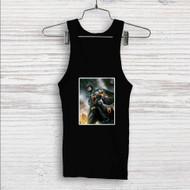 Batman and Umbreon Pokemon Custom Men Woman Tank Top T Shirt Shirt