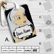 Alice in Wonderland With Metallica Custom Leather Luggage Tag