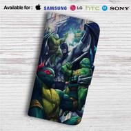 Batman and Teenage Mutant Ninja Turtles Custom Leather Wallet iPhone 4/4S 5S/C 6/6S Plus 7| Samsung Galaxy S4 S5 S6 S7 Note 3 4 5| LG G2 G3 G4| Motorola Moto X X2 Nexus 6| Sony Z3 Z4 Mini| HTC ONE X M7 M8 M9 Case