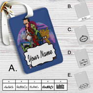 Bob's Burgers as Guardians of the Galaxy Custom Leather Luggage Tag