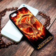 Mockingjay hunger games on your case iphone 4 4s 5 5s 5c 6 6plus 7 case / cases