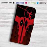 Deadpool Guns Custom Leather Wallet iPhone 4/4S 5S/C 6/6S Plus 7| Samsung Galaxy S4 S5 S6 S7 Note 3 4 5| LG G2 G3 G4| Motorola Moto X X2 Nexus 6| Sony Z3 Z4 Mini| HTC ONE X M7 M8 M9 Case