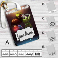 Frisk and Chara Undertale Custom Leather Luggage Tag