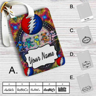 Grateful Dead Custom Leather Luggage Tag