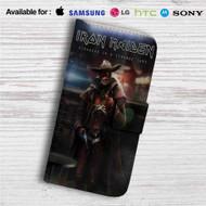 Iron Maiden Stranger in Strange Land Custom Leather Wallet iPhone 4/4S 5S/C 6/6S Plus 7| Samsung Galaxy S4 S5 S6 S7 Note 3 4 5| LG G2 G3 G4| Motorola Moto X X2 Nexus 6| Sony Z3 Z4 Mini| HTC ONE X M7 M8 M9 Case