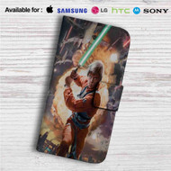 Luke Skywalker Star Wars Custom Leather Wallet iPhone 4/4S 5S/C 6/6S Plus 7| Samsung Galaxy S4 S5 S6 S7 Note 3 4 5| LG G2 G3 G4| Motorola Moto X X2 Nexus 6| Sony Z3 Z4 Mini| HTC ONE X M7 M8 M9 Case