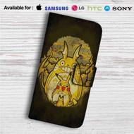 Pikachu Transform Totoro Custom Leather Wallet iPhone 4/4S 5S/C 6/6S Plus 7| Samsung Galaxy S4 S5 S6 S7 Note 3 4 5| LG G2 G3 G4| Motorola Moto X X2 Nexus 6| Sony Z3 Z4 Mini| HTC ONE X M7 M8 M9 Case