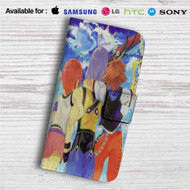 Sora Kairi and Riku Kingdom Hearts Custom Leather Wallet iPhone 4/4S 5S/C 6/6S Plus 7  Samsung Galaxy S4 S5 S6 S7 Note 3 4 5  LG G2 G3 G4  Motorola Moto X X2 Nexus 6  Sony Z3 Z4 Mini  HTC ONE X M7 M8 M9 Case