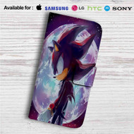 Sonic Shadow the Hedgehog Custom Leather Wallet iPhone 4/4S 5S/C 6/6S Plus 7| Samsung Galaxy S4 S5 S6 S7 Note 3 4 5| LG G2 G3 G4| Motorola Moto X X2 Nexus 6| Sony Z3 Z4 Mini| HTC ONE X M7 M8 M9 Case