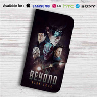 Star Trek Beyond Custom Leather Wallet iPhone 4/4S 5S/C 6/6S Plus 7| Samsung Galaxy S4 S5 S6 S7 Note 3 4 5| LG G2 G3 G4| Motorola Moto X X2 Nexus 6| Sony Z3 Z4 Mini| HTC ONE X M7 M8 M9 Case