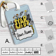 Star Wars Rocks Custom Leather Luggage Tag