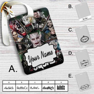Suicide Squad Characters Custom Leather Luggage Tag