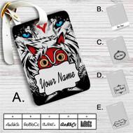 The Mask Princess Mononoke Custom Leather Luggage Tag