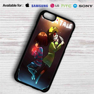 Frisk and Chara Undertale iPhone 4/4S 5 S/C/SE 6/6S Plus 7| Samsung Galaxy S4 S5 S6 S7 NOTE 3 4 5| LG G2 G3 G4| MOTOROLA MOTO X X2 NEXUS 6| SONY Z3 Z4 MINI| HTC ONE X M7 M8 M9 M8 MINI CASE