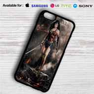 Gal Gadot as Wonder Woman iPhone 4/4S 5 S/C/SE 6/6S Plus 7| Samsung Galaxy S4 S5 S6 S7 NOTE 3 4 5| LG G2 G3 G4| MOTOROLA MOTO X X2 NEXUS 6| SONY Z3 Z4 MINI| HTC ONE X M7 M8 M9 M8 MINI CASE