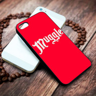 Muggle harry potter on your case iphone 4 4s 5 5s 5c 6 6plus 7 case / cases