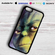 Master Yoda Face Star Wars iPhone 4/4S 5 S/C/SE 6/6S Plus 7| Samsung Galaxy S4 S5 S6 S7 NOTE 3 4 5| LG G2 G3 G4| MOTOROLA MOTO X X2 NEXUS 6| SONY Z3 Z4 MINI| HTC ONE X M7 M8 M9 M8 MINI CASE