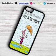 Piglet Winnie The Pooh iPhone 4/4S 5 S/C/SE 6/6S Plus 7| Samsung Galaxy S4 S5 S6 S7 NOTE 3 4 5| LG G2 G3 G4| MOTOROLA MOTO X X2 NEXUS 6| SONY Z3 Z4 MINI| HTC ONE X M7 M8 M9 M8 MINI CASE