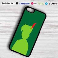 Silhouette of Peter Pan Disney iPhone 4/4S 5 S/C/SE 6/6S Plus 7| Samsung Galaxy S4 S5 S6 S7 NOTE 3 4 5| LG G2 G3 G4| MOTOROLA MOTO X X2 NEXUS 6| SONY Z3 Z4 MINI| HTC ONE X M7 M8 M9 M8 MINI CASE