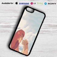 Simba and Nala Disney The Lion King iPhone 4/4S 5 S/C/SE 6/6S Plus 7| Samsung Galaxy S4 S5 S6 S7 NOTE 3 4 5| LG G2 G3 G4| MOTOROLA MOTO X X2 NEXUS 6| SONY Z3 Z4 MINI| HTC ONE X M7 M8 M9 M8 MINI CASE