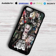 Suicide Squad Characters iPhone 4/4S 5 S/C/SE 6/6S Plus 7| Samsung Galaxy S4 S5 S6 S7 NOTE 3 4 5| LG G2 G3 G4| MOTOROLA MOTO X X2 NEXUS 6| SONY Z3 Z4 MINI| HTC ONE X M7 M8 M9 M8 MINI CASE