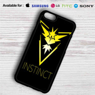 Team Instinct Pokemon iPhone 4/4S 5 S/C/SE 6/6S Plus 7| Samsung Galaxy S4 S5 S6 S7 NOTE 3 4 5| LG G2 G3 G4| MOTOROLA MOTO X X2 NEXUS 6| SONY Z3 Z4 MINI| HTC ONE X M7 M8 M9 M8 MINI CASE