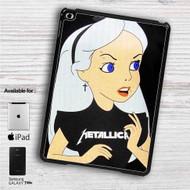 """Alice in Wonderland With Metallica iPad 2 3 4 iPad Mini 1 2 3 4 iPad Air 1 2   Samsung Galaxy Tab 10.1"""" Tab 2 7"""" Tab 3 7"""" Tab 3 8"""" Tab 4 7"""" Case"""
