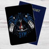 Spiderman Venom Gym Custom Leather Passport Wallet Case Cover