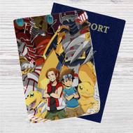 The Blazing Valor Pokemon Go Custom Leather Passport Wallet Case Cover