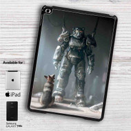 "Fallout 4 Dogmeat & Power Armor iPad 2 3 4 iPad Mini 1 2 3 4 iPad Air 1 2 | Samsung Galaxy Tab 10.1"" Tab 2 7"" Tab 3 7"" Tab 3 8"" Tab 4 7"" Case"