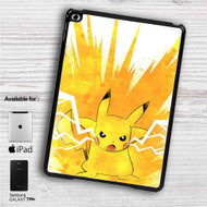 "Pikachu Pokemon Angry iPad 2 3 4 iPad Mini 1 2 3 4 iPad Air 1 2 | Samsung Galaxy Tab 10.1"" Tab 2 7"" Tab 3 7"" Tab 3 8"" Tab 4 7"" Case"