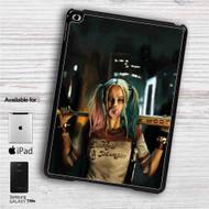 """Suicide Squad Harley Quinn iPad 2 3 4 iPad Mini 1 2 3 4 iPad Air 1 2   Samsung Galaxy Tab 10.1"""" Tab 2 7"""" Tab 3 7"""" Tab 3 8"""" Tab 4 7"""" Case"""