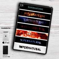 "Supernatural Title iPad 2 3 4 iPad Mini 1 2 3 4 iPad Air 1 2   Samsung Galaxy Tab 10.1"" Tab 2 7"" Tab 3 7"" Tab 3 8"" Tab 4 7"" Case"