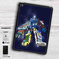 "Voltron Legendary Defender Dr Who iPad 2 3 4 iPad Mini 1 2 3 4 iPad Air 1 2 | Samsung Galaxy Tab 10.1"" Tab 2 7"" Tab 3 7"" Tab 3 8"" Tab 4 7"" Case"