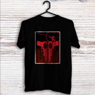 Deadpool Guns Custom T Shirt Tank Top Men and Woman