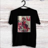 Harley Quinn Play Music Custom T Shirt Tank Top Men and Woman
