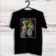 Poison Ivy Harley Quinn Custom T Shirt Tank Top Men and Woman