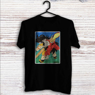 The death of Goku and Raditz Custom T Shirt Tank Top Men and Woman
