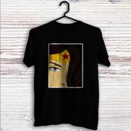 Wonder Woman Face Custom T Shirt Tank Top Men and Woman