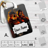 Assassins Creed Syndicate The Frye Twins Custom Leather Luggage Tag